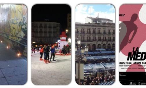 Roscones, Olentzeros, conciertos y velas llenan el preludio de la Navidad