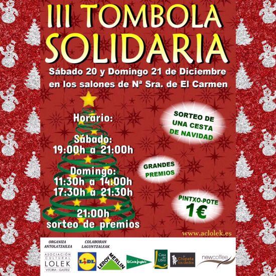 III Tómbola Solidaria @ Iglesia de El Carmen