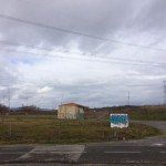 Depósito de Yurre, bajo el cable eléctrico