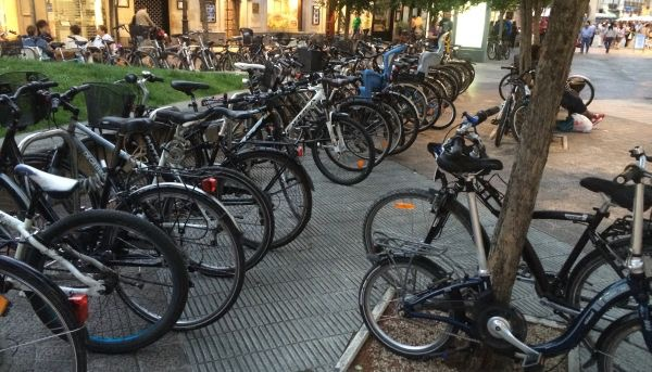 uso bicis en vitoria