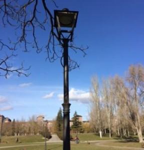 Nuevas Farolas de LED en Arriaga