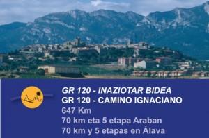 Camino Ignaciano en Alava