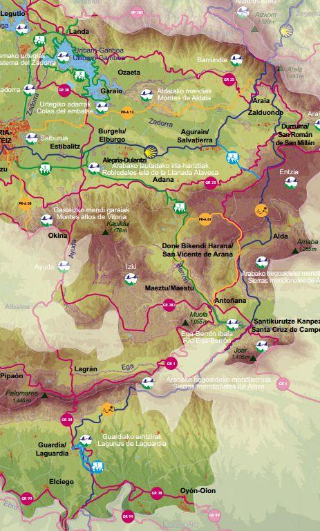Recorrido Camino Ignaciano en Álava