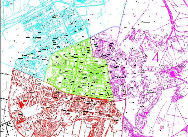 Mapa Escolar de Vitoria