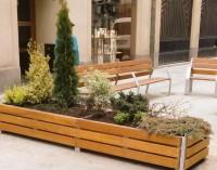 Las jardineras de San Prudencio ya tienen plantas