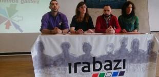 Irabazi-Ganemos presenta sus candidatos para el 24-M