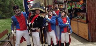 VÍDEO: Napoleón conquista el Parque de Arriaga