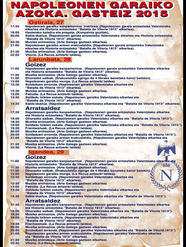 programa mercado napoleonico