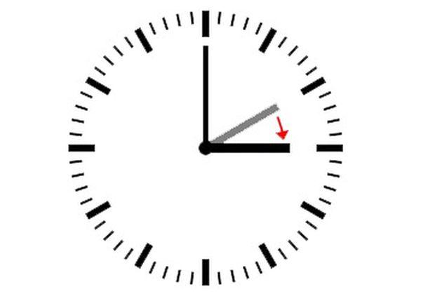 reloj cambio hora
