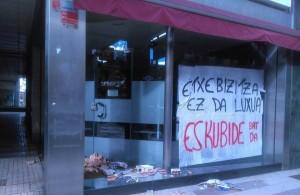 inmobiliaria Calle Santiago ataque