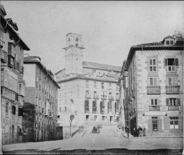 AYU-13x18-72+Hacia 1867_Cuesta del Banco de España