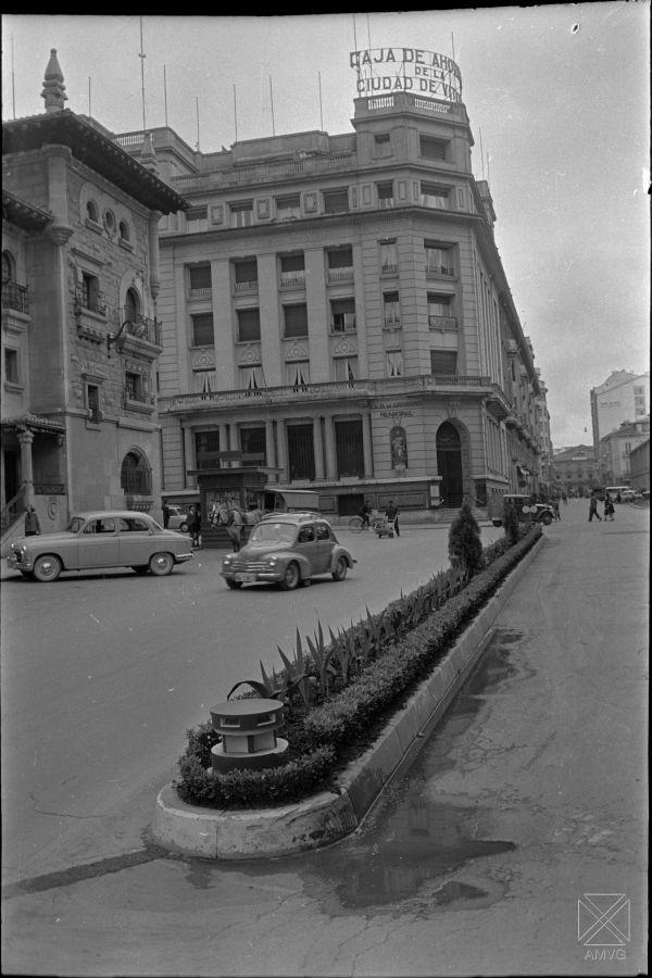 S. Arina 1970. Plaza de Correos