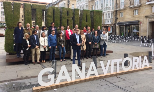 Lista electoral PP Vitoria