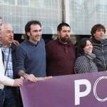 Jorge Hinojal, el cuarto por la izquierda