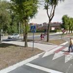 Paso de peatones en el que se ha producido el accidente (Google Maps)