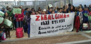 Zabalgana sigue sin noticias del instituto y del tercer centro de Primaria