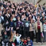 Foto de la Familia Porras en Vitoria