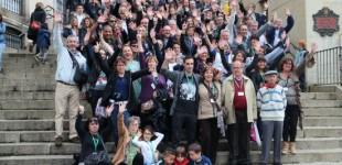 109 miembros de la familia Porras eligen Vitoria para su encuentro bienal