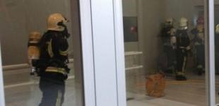 Un pequeño incendio encierra en Abetxuko a los alumnos del curso de socorrismo