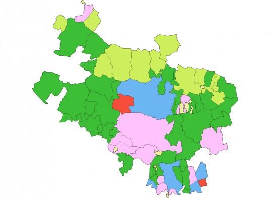 mapa alava