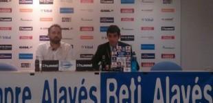 Bordalás confía en sus antiguos jugadores para el nuevo Alavés