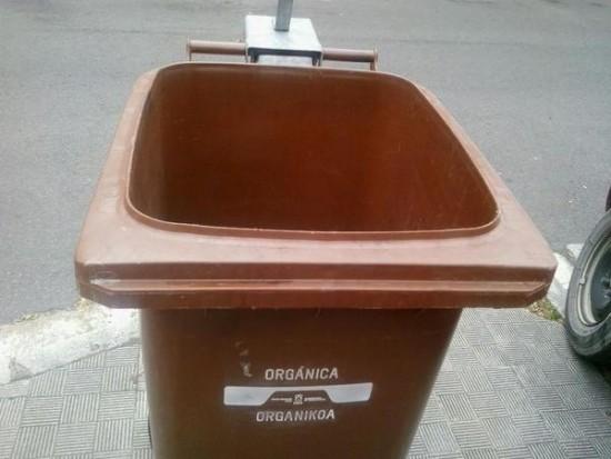 contenedor organica