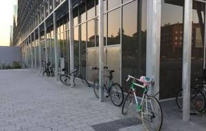 bicis candadas estación