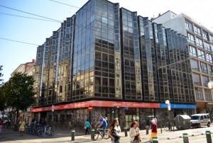 El pp urge a recalificar el edificio de hacienda en la for Banco santander bilbao oficinas