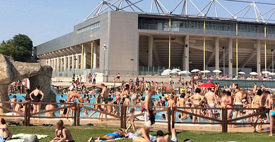 piscina mendi