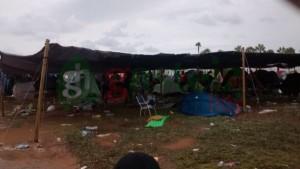 Imágenes del viernes en el camping (vía @lidiaCDgasteiz)
