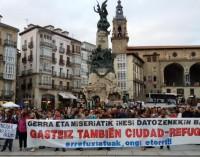 Vitoria-Gasteiz acogerá a hasta 10 familias de refugiados