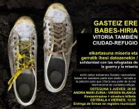 Vitoria-Gasteiz se plantea unirse a las ciudades que acogen refugiados