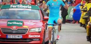 Mikel Landa se exhibe en la jornada más dura de La Vuelta