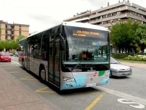 Autobús similar al utilizado
