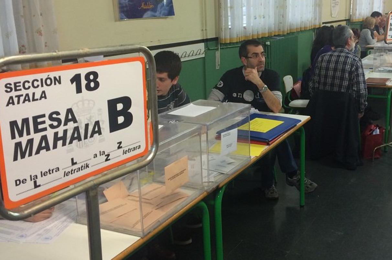 Colegios electorales vitoria
