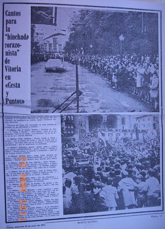 cesta y puntos 1971