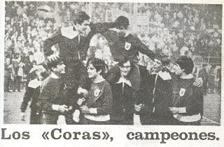coras campeones 1971 cesta y puntos