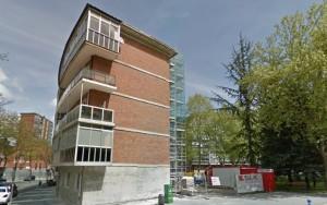 Vista del edificio antes de su reforma
