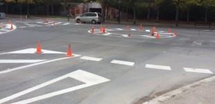 San Martín estrena rotonda pero pierde decenas de aparcamientos