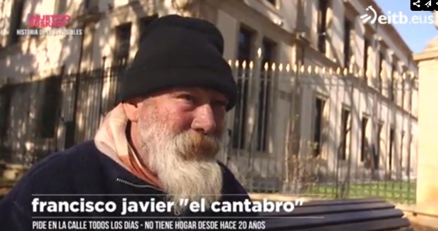 Muere El Cántabro, el vagabundo más conocido en Vitoria