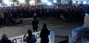 Cientos de personas se manifiestan contra la violencia machista