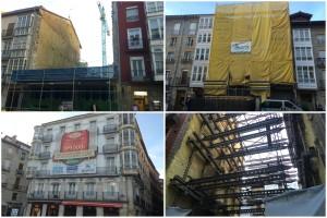 Viviendas en obras en el centro