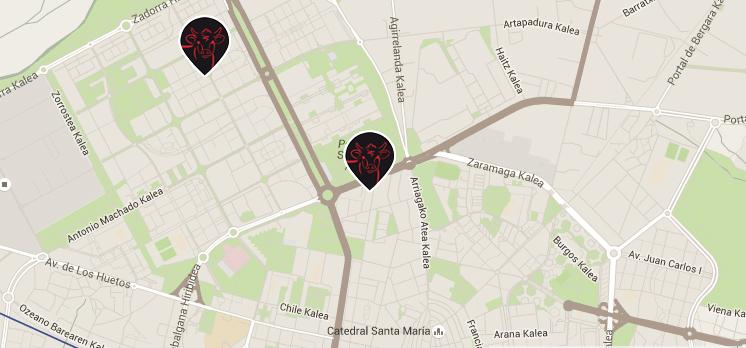 Carniceria El Pilar Vitoria Mapa