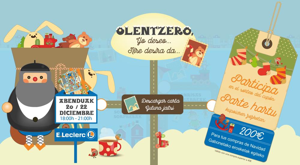 Dibujos De Navidad Del Olentzero.Olentzero Prepara Dos Chocolatadas Para Recoger Tu Carta En