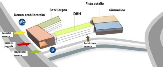 mapa plano zabalgana