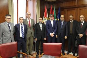 Reunión entre los alcaldes de Vitoria y Tánger