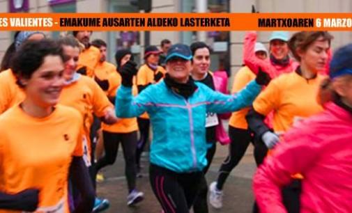 Vitoria acoge el 6 de marzo la Carrera Solidaria por las Mujeres Valientes