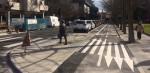carril bici calle chile