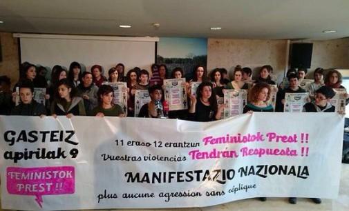 Vitoria albergará una manifestación contra la violencia machista el 9 de abril