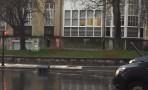 Un vehículo choca contra un semáforo en Luis Heinz